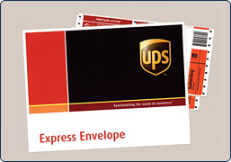 Ups Letter Envelope Ytb- ups discount card