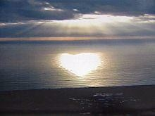 valentine on water